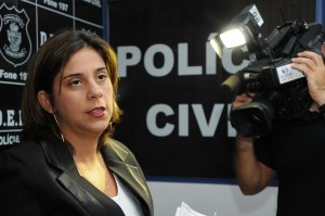 Delegada Adriana Ribeiro revela necessidade de grupo de investigação específica