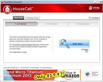 House Call, da Trend Micro: pode ser instalado em um pendrive